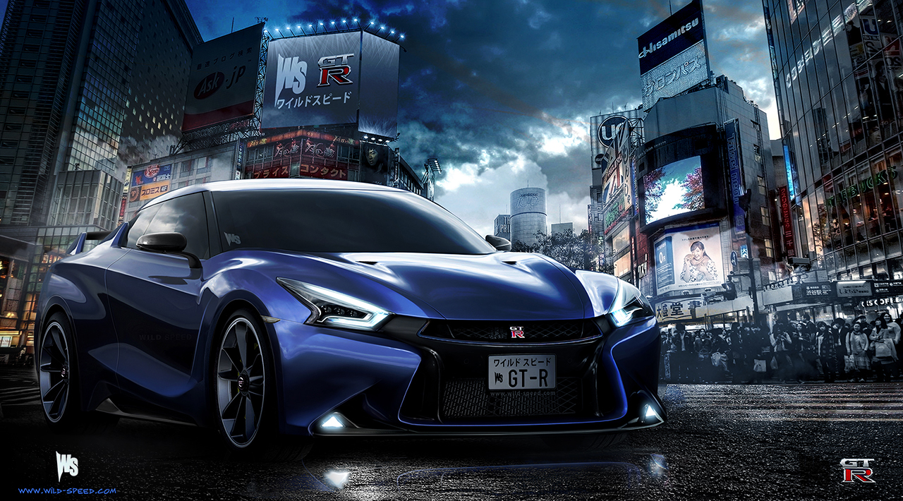 nissan gt-r r36 – wild speed
