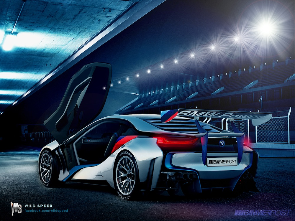 Bmw I8 In Detail Performance Explained