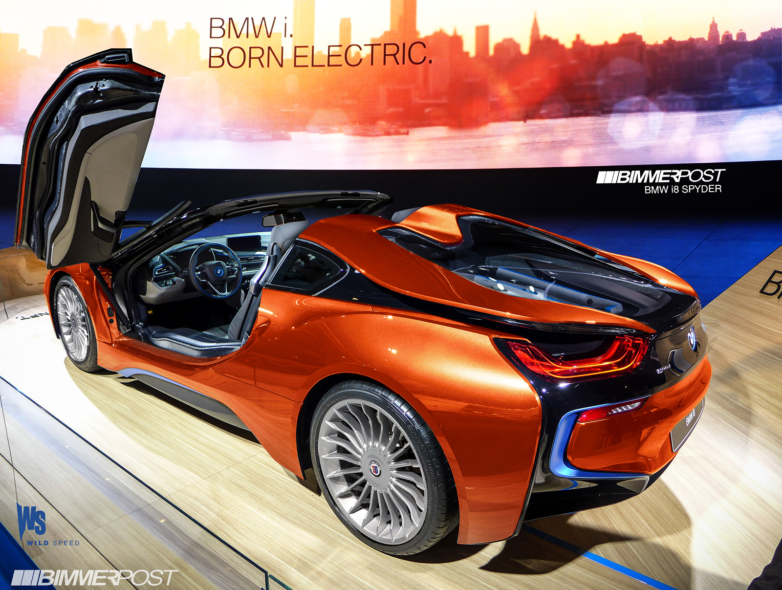 Bmw I8 Spyder Wild Speed
